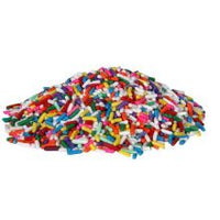 CARNIVAL DECORETTE JIMMIES RAINBOW SPRINKLE KING 4/6LB