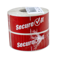 "1""x3"" TAMPER EVIDENT SECUREIT  LABELS RED 1000/RL"