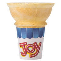 JACKET 22 JOY SLEEVE PK 36PK/20EA FLAT BOTTOM CAKE CONE