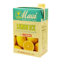 MAUI LEMON ICE FRUIT BLENDS 6/46 OZ ADD MILK FOR SMOOTHIE