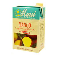 MAUI MANGO FRUIT BLENDS ADD 6/46 OZ MILK FOR SMOOTHIE