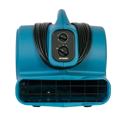 Mini Air Mover/ Freshen Aire P-450NT 1/3 HP Scented Air Mover with Ionizer