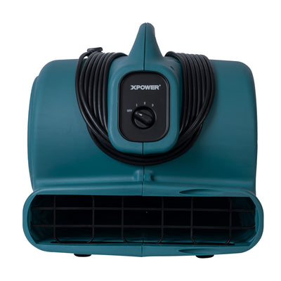 AIR MOVER, 1/2 HP, 2800 CFM, 5.0 AMPS, 3-SPEED, (PP)