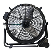 "AXIAL AIR MOVER, 1/2HP, 9500  CFM,1.8 AMPS, VARIABLE SPEED,  24"" - SEALED BRUSHLESS DC  MOTOR"