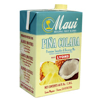 MAUI PINA COLADA FRUIT BLENDS 6/46 OZ ADD MILK FOR SMOOTHIE