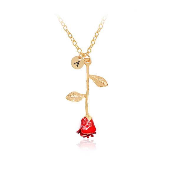 Red Rose Necklaces