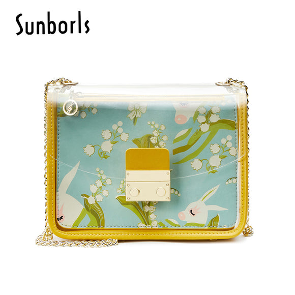 Natural printing Shoulder Bag