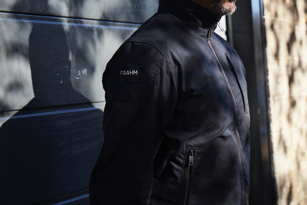 frahm jacket harrington racer jacket