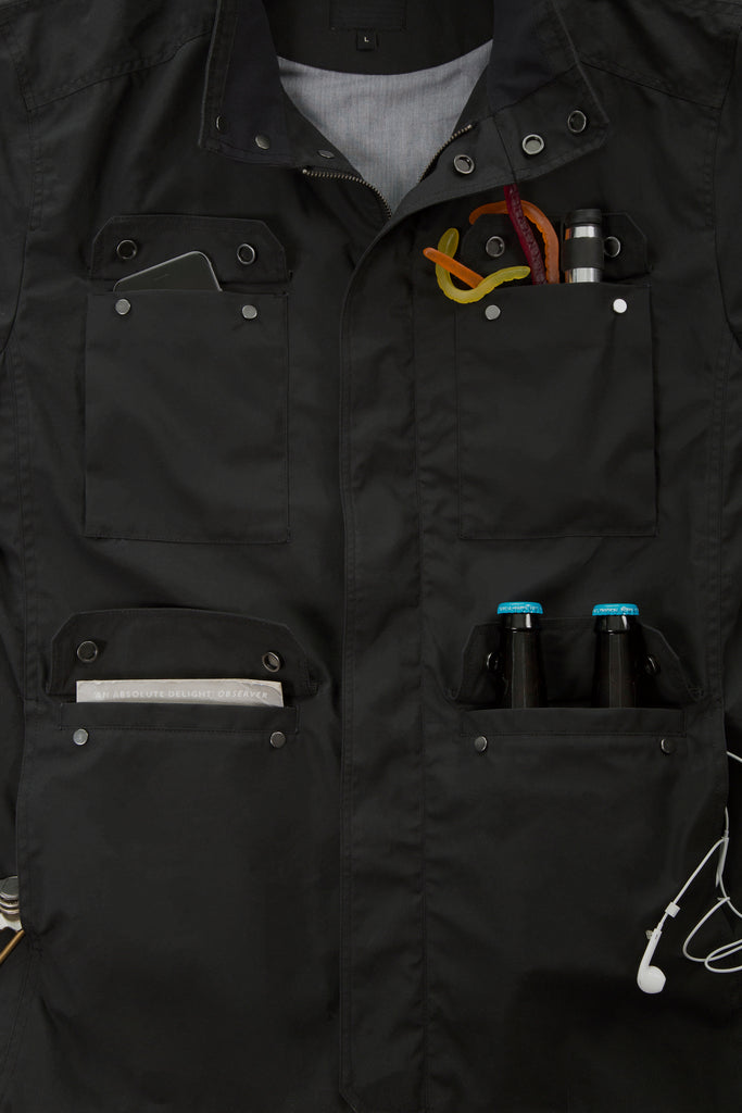 frahm jacket utility field carrying pockets
