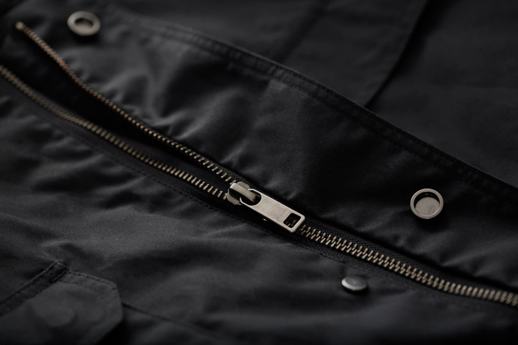 FRAHM Jacket Utility Field zip detail