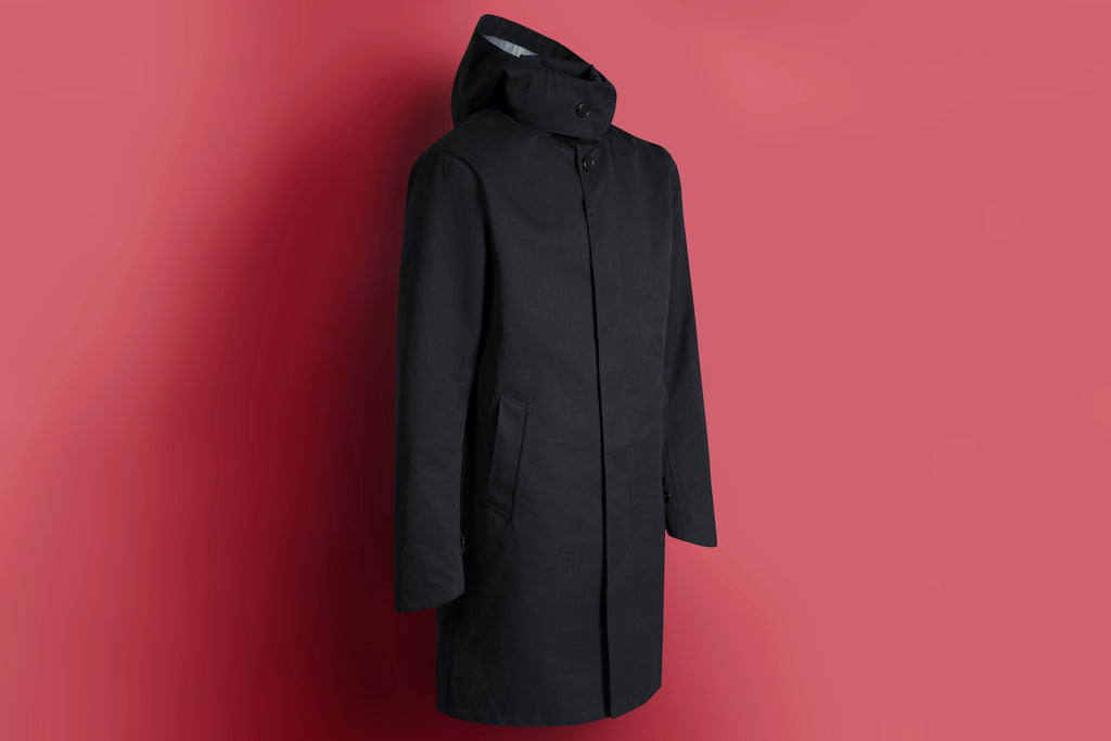 frahm waterproof city coat