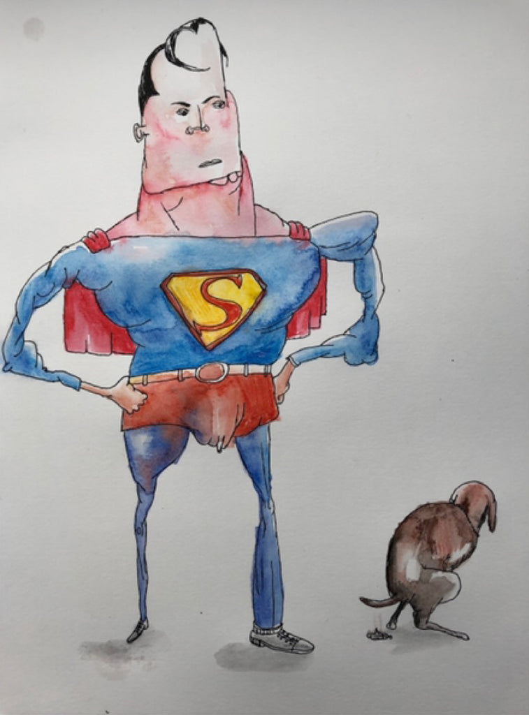 vic reeves jim moir art superman