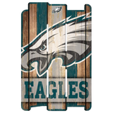 NFL Wood Fence Sign