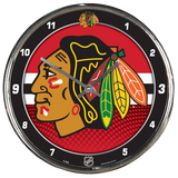 NHL Chrome Clocks