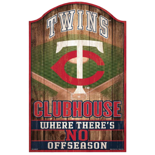 MLB Clubhouse Sign