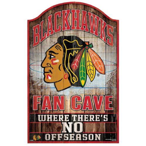 NHL Fan Cave Sign