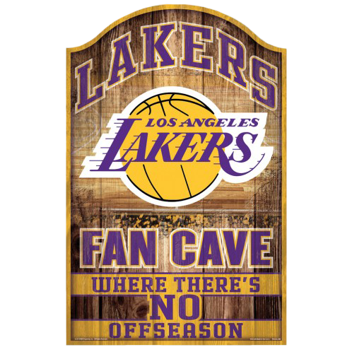 NBA Fan Cave Sign