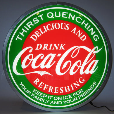 Coca Cola Evergreen LED Backlit Sign