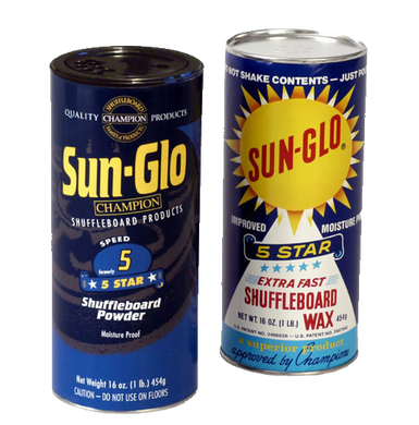 Sun-Glo Shuffleboard Powder 5 Star Speed