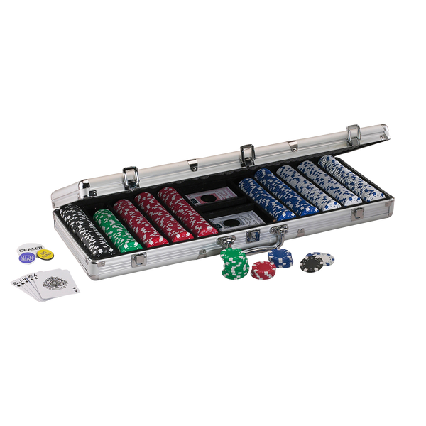 Replacement Aluminum 500ct. Poker Chip Case