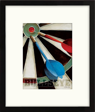 Bullseye Framed Artwork