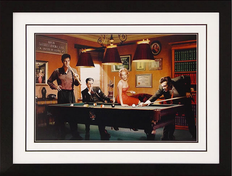 Legal Action Framed Artwork