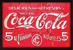 Coca-Cola Framed Artwork
