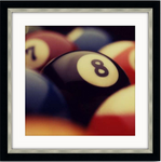 Billiard Balls Eight Ball Framed Photo