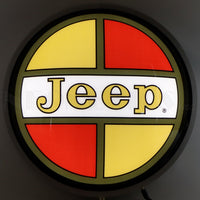"Jeep Retro 15"" Backlit LED Lighted Sign"