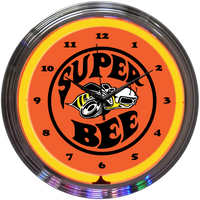 Super Bee Neon Clock