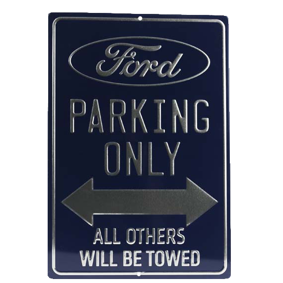 Ford Parking Only