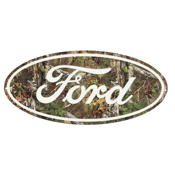 Ford Camo Tin Sign