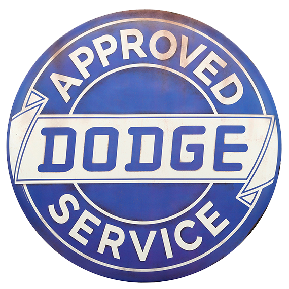 Dodge Service Tin Sign