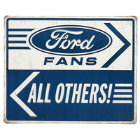 Ford Fans Tin Sign