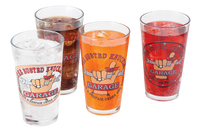 Busted Knuckle Garage 4-Pack Pint Glass Set