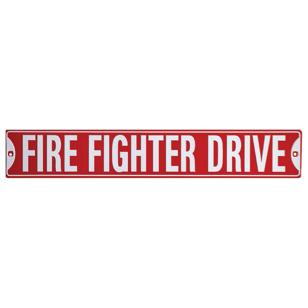 Fire Fighters Drive Street Sign