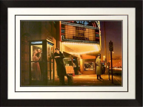 Midnight Matinee Framed Artwork