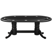 "Ram 84"" Texas Hold'Em Poker Table with Dining Table Conversion Top"