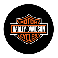 Harley Davidson Bar & Shield Cafe Table