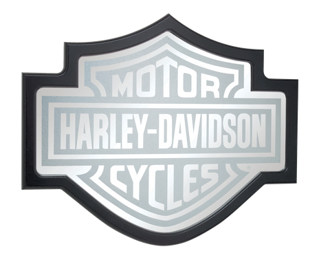 Harley Davidson Bar & Shield Mirror