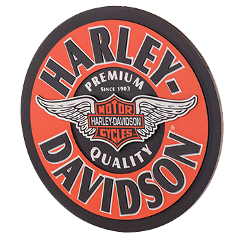 Harley Davidson Winged B&S Pub Sign
