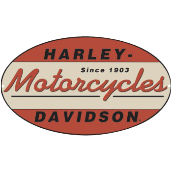 Harley Davidson 1903 Oval Tin Sign