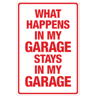 My Garage Tin Sign