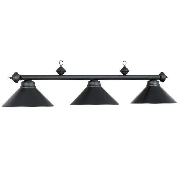 Lighting Metal 3 Light Fixture - Matte Black