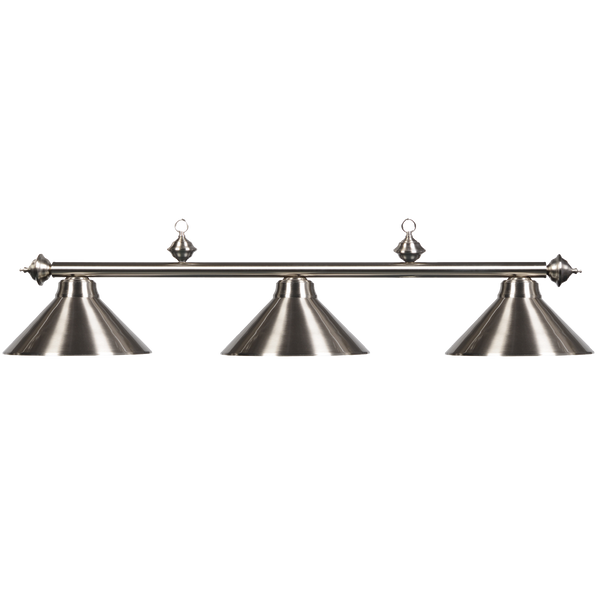 Lighting Metal 3 Light Fixture - Stainless