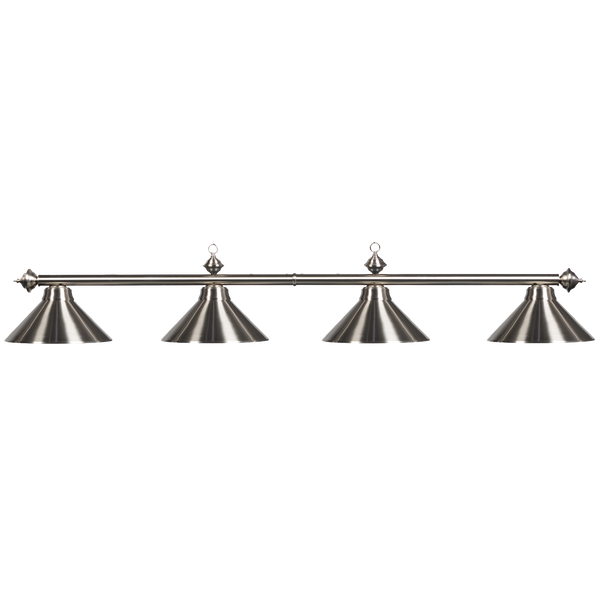 Lighting Metal 4 Light Fixture - Stainless