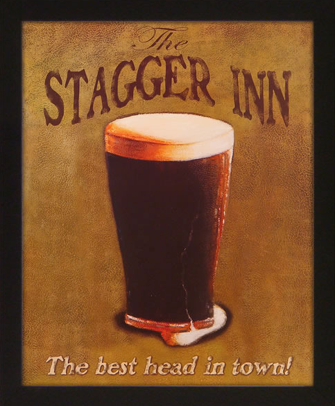 The Stagger Inn Framed Artwork