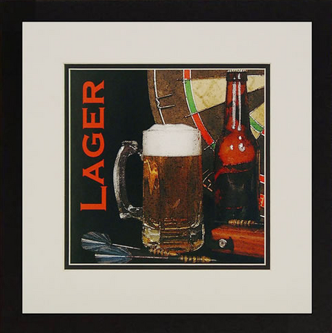 Lager Framed Artwork