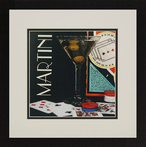 Martini Framed Artwork