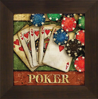 Poker Framed Artwork
